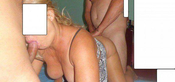 Mulher de corno na putaria