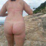Fotos da esposa pelada na praia