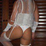 Minha mulher gostosa de lingerie