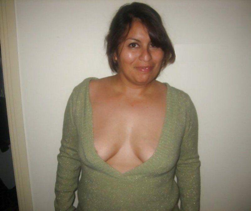 Мексиканка показала грудь