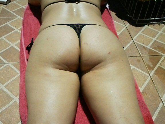 Tomando sol para fazer sexo