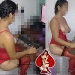 Esposa de lingerie querendo macho