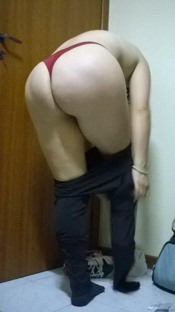 Esposa exibindo a bunda grande (21)