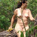 Fernanda coroa gostosa pelada