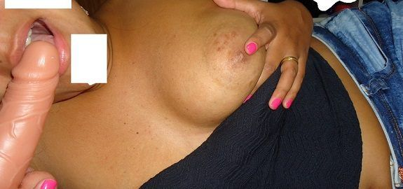 Fotos porno amador Casal Pretinha & Pretinho