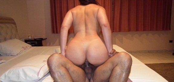 Sra em Sexo trepando com o amante