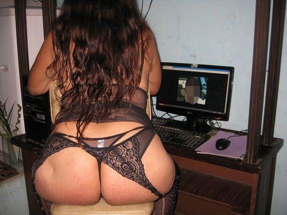 Fotos da esposa rabuda gostosa de lingerie