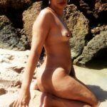 Fotos amadoras da esposa pelada na praia