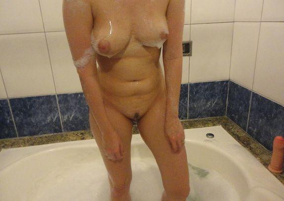 Esposa gostosa no motel toda nua