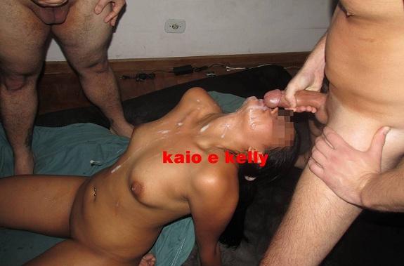 Ksal Novinha em fotos amadoras de sexo porno