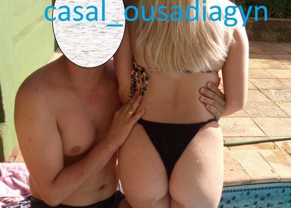 Marido gosta de exibir fotos amadoras nuas da esposa