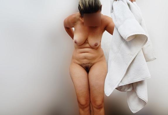 Fotos da esposa quarentona toda pelada