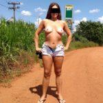 Fotos amadoras da Raquel peladinha na estrada