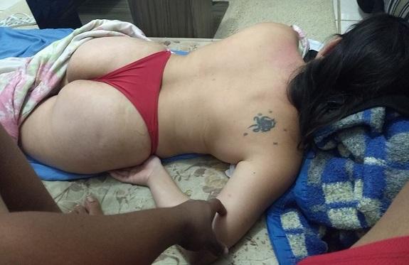 Flagra amador na esposa pelada rabuda
