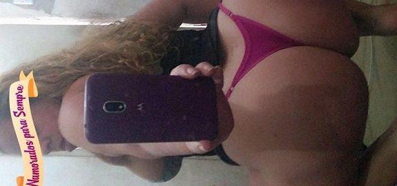 Solteira amadora rabuda em fotos sensuais