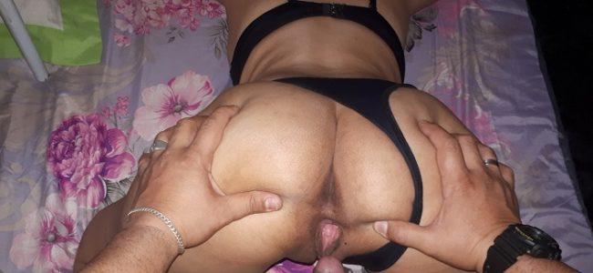 Casal Moura e Moura em fotos de sexo amador
