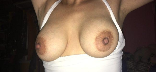 Minha esposa e fotos dos peitos gostosos