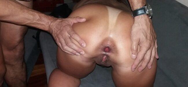 Esposa arrombada de tanto sexo