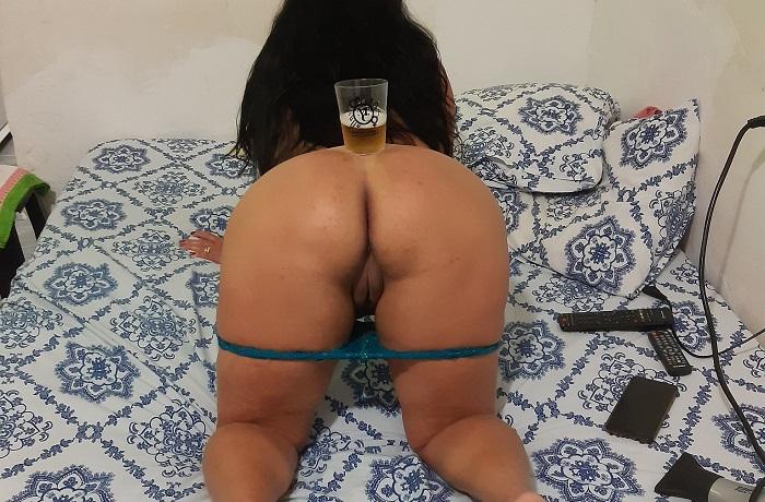 Noite de sexo com sua esposa gostosa