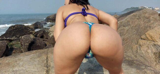Levou a gostosa depois da praia para transar